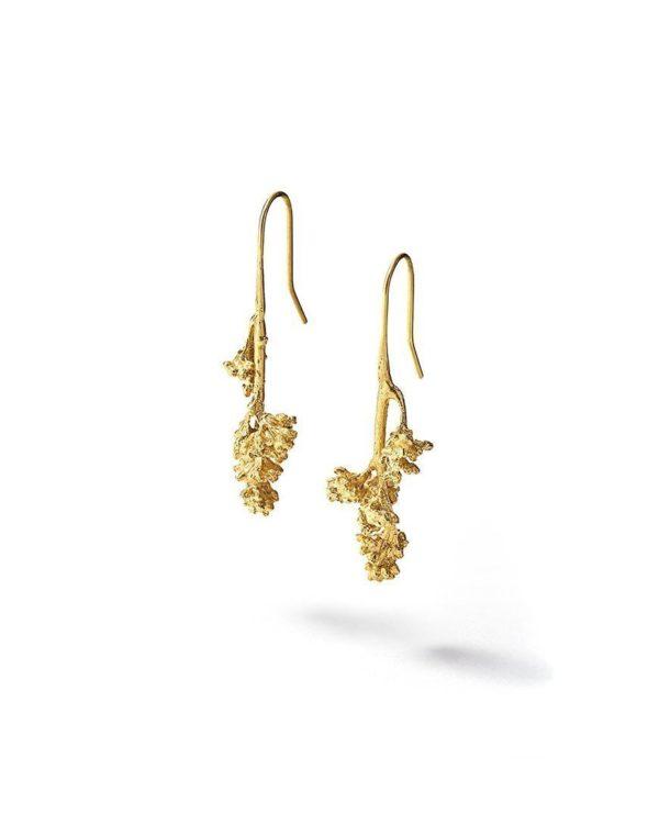 Boucles d'oreilles inflorescences lyon créateur bijouterie